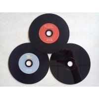China OEM Professional 650MB, 700MB Black Vinyl PC VCD 52X CD Replication Services on sale