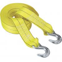 Quality Polyester Webbing Tow Straps With Hooks for sale