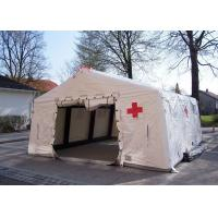 Quality Removeble Air Tight Army Inflatable Medical Tent 0.65mm PVC Tarpaulin for sale