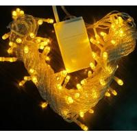 Best New arrival 100v yellow connectable flashing string lights 10m wholesale