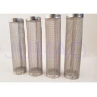 Quality Stainless Steel Single Layered Sintered Filter Element Constant Filter Rating for sale