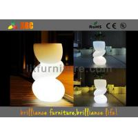 Quality Fashionable LED Flower Pot / Vase With Led Lights For Bars , Coffee Shops for sale