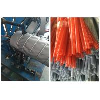 China PA / PVC Single Wall Corrugated Pipe Production Line 380V / 50HZ on sale