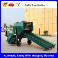 Quality 2017 hot selling full automatic grass silage baler packing machine for sale