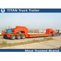 Super low bed transport Semi Trailer trucks Dolly Type payload 200T 2 / 3 / 4 axles