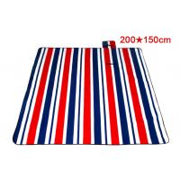 Quality Lightweight Foldable Picnic Mat With Thick Waterproof PVC Backing for sale