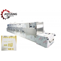 China 20 kw Healthy Non-fried Snack Food Pasta Microwave Puffing Sterilization Machine for sale