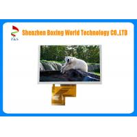 Quality 5 Inch Capacitive TFT LCD Touch Screen 800 * 480 Resolution 450 Brightness for sale