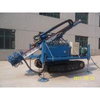 Quality Hydraulic Clamp Wrench Device Anchor Drilling Rig / Crawler Drilling Rig for sale