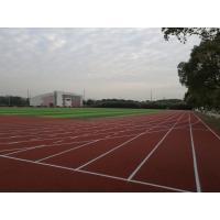 Recycled Coloured Rubber Crumb Non Toxic Track Surface 13-15mm Thickness