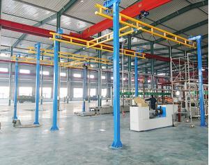 Quality Finework Single Beam Double Beam KBK Light Crane System for sale