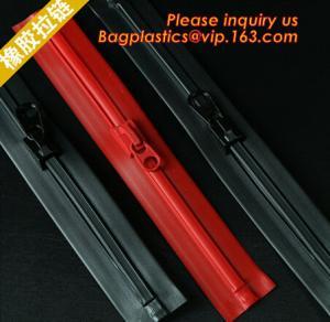 Quality concavo convex zipper, plastic flange zipper, bone zipper, waterproof airtight zipper for sale