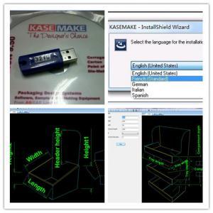 Quality Corrugated carton box CAD design software for sale