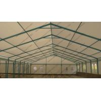 Quality Blue Colored Portable Storage Tents Waterproof Steel As Semi - Permanent Warehouse for sale