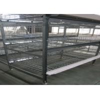 Quality Automatic Broiler Chicken Cage  System U - Shaped Steel Fram Long Lifespan for sale