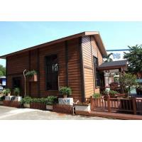 China Wood Grain Window WPC Wall Panel For Outdoor Decoration No Toxic on sale