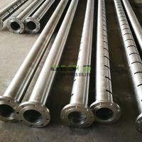 Quality ERW Vertical Slotted Well Screen Pipe High Overall Strength For Deep Well for sale