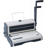 Quality Office Supply Stationery 2.5mm A5 Manual Desktop Binding Machine for sale