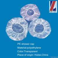 China Disposable Pe Shower Cap on sale