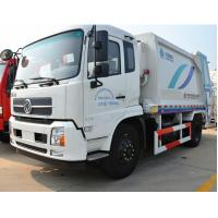 Quality Dongfeng Garbage Compactor Truck Engine Type 4 Stroke Water - Cooled for sale