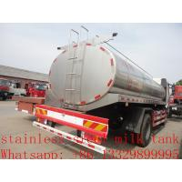 Buy cheap FAW 4*2 13,000L stainless steel milk tank for sale, China supplier of factory from wholesalers