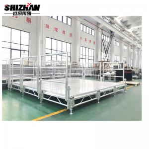 Quality Entertainment Event Aluminum Plywood Stage Platform Easy Assembly for sale