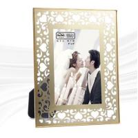 Quality High End Brass And Glass Picture Frame Various Sizes / Design High Hardness for sale