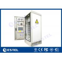 """Quality 19"""" Rack Outdoor Telecom Cabinet Double Wall SNMP Communication Environment Monitoring for sale"""