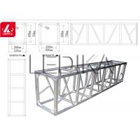 China 6082 Aluminum Square Truss Trade Show Booth Fashion Show Stage Equipment on sale