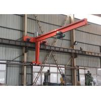 China Swing Arm Wall Mounted Jib Crane With Electric Chain Hoist for Workshop on sale