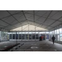 Quality Outdoor Exhibition Tent/PVC Fabric Roof Exhibition Canopy Glass Walls for sale