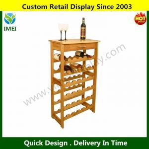 China wood Crafts Wine Rack  YM6-005 on sale