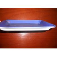 China Violet PS Food Grade Plastic Trays For Freezing Meat And Poultry Packaging on sale