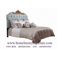 China Queen bed king bed luxury bedroom classical bed Italy style bed bed price supplier TA-010 on sale