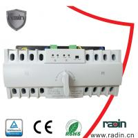 Quality 0.2s Fixed Static Transfer Switch , MCB Inside 6A - 63A 3 Phase Transfer Switch for sale