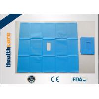 China Waterproof Disposable Surgical Drapes Non-woven Sterile Surgical Sheet Without Tape on sale