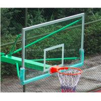 Buy Super Toughened Safety Glass Basketball Backboard Wall Mount For Buildings at wholesale prices