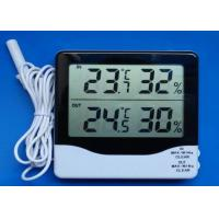 China Accurate thermometer indoor and outdoor digital thermometer hygrometer on sale