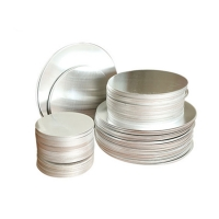 Quality Dia 80mm 1100 3003 Aluminum Round Plate Disk Disc For Cookwares for sale