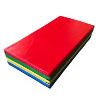 China Customized Size Kids Gymnastics Mat Shock Absorbing With Oxford Cloth Material on sale