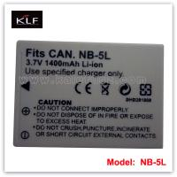 Quality camera battery NB-5L for Canon for sale