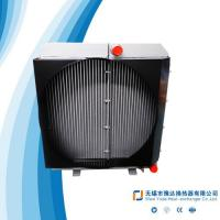 China Excavator oil cooler, concrete mixer oil cooler, engineering machinery oil cooler, wind power water and oil coooler for sale