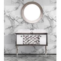 China S-1323 New Design Euro Style Luxury Bathroom Cabinet 1200*540mm on sale