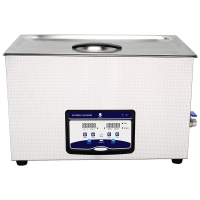 China Digital Control SUS304 600W Tabletop Ultrasonic Cleaner for sale