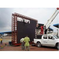 Best Scoreboard LED Display Project for Football Stadium Perimeter P10 / P16 / P20 Outside wholesale
