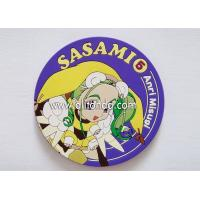 Quality Factory price Eco-friendly promotional custom promotional rubber soft pvc silicone coasters for sale