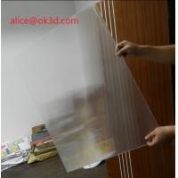 Quality 3D effects lenticular sheet materials 25 lpi 4mm thickness lenticular for uv flatbed printer and inkjet print for sale