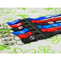 Best Polyester Office lanyard with detachable clip, China printed ribbon vendor wholesale