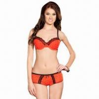 Quality Nylon Underwear Bra/Panty Set, Various Colors are Available for sale