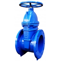 Quality DN300 Ductile Iron GGG40 Soft Resilient Seal Gate Valve Class 150 for sale